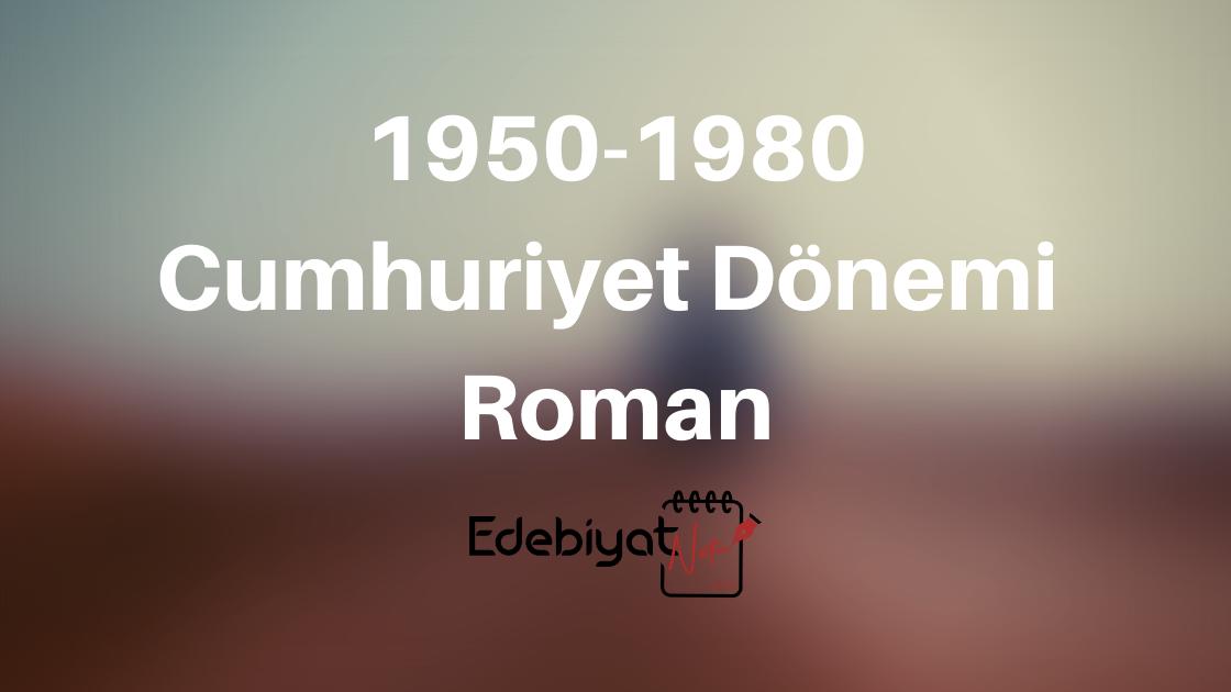 11. Sınıf Cumhuriyet Dönemi 1950-1980