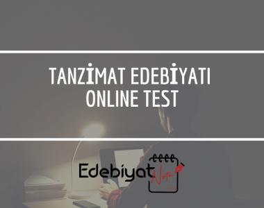 tanzimat-edebiyati-online-test